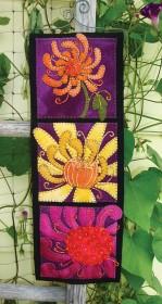 Close-Up Chrysanthemum Wall Hanging