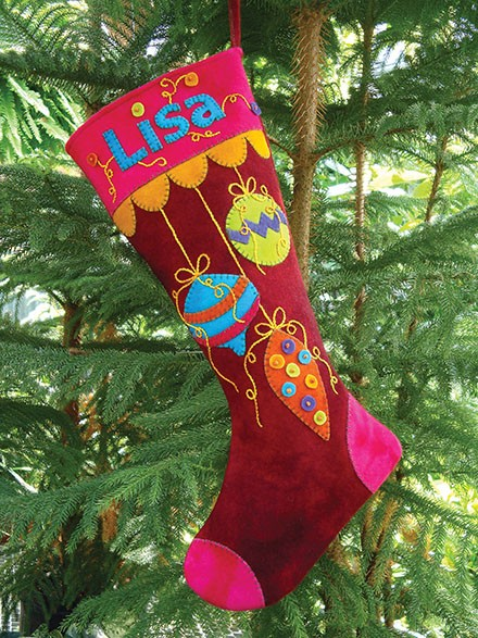 You Could Even Say it Glows Holiday Stocking