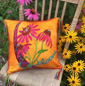 Bloom Crazy Pillow