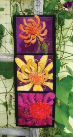 Close-Up Chrysanthemum Wall Hanging