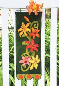 Lovely Lilies Wall Hanging