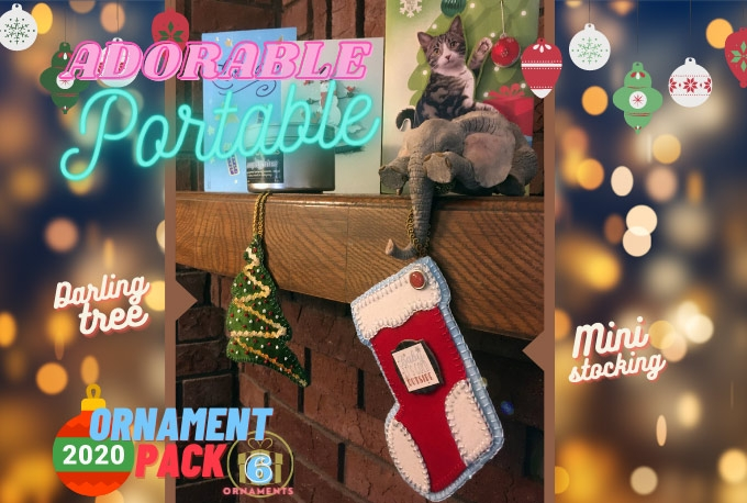 Our 2020 Ornaments Pack Is Here!