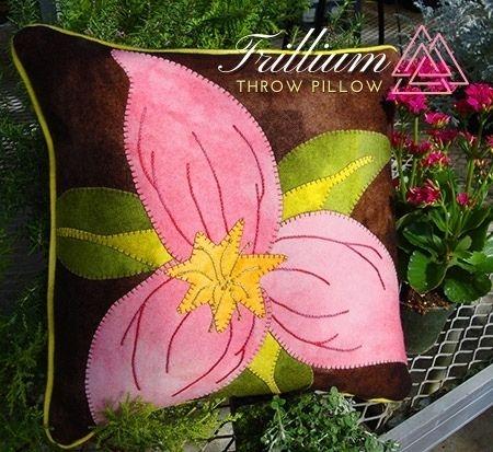 Trillium Pillow is on sale