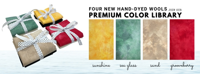 Four new colors join our Catalog