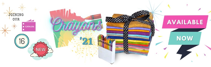 Our Crayons are joining our permanent Catalog