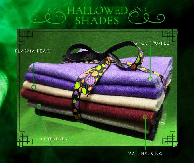 Hallowed Shades Wool Bundle
