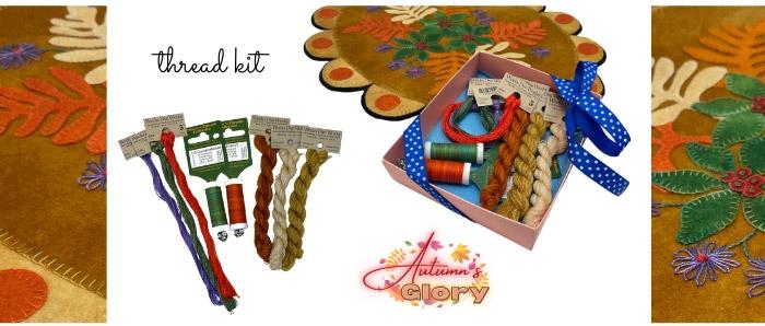 Autumn's Glory Hand Thread Kit