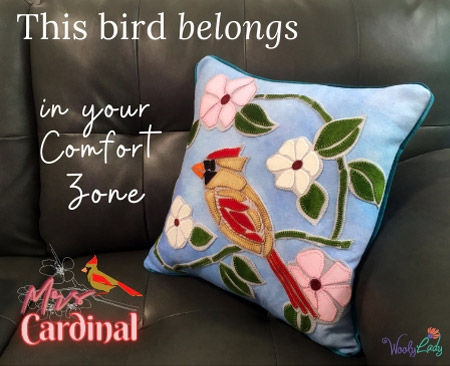 Mrs Cardinal is our Latest Limited Edition