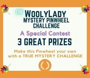 WoolyLady's Mystery Pinwheel Prize Image