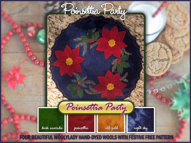 Image montage of Poinsettia Party by WoolyLady