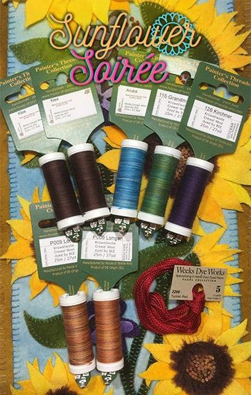 Our Sunflower Hand Thread Kit